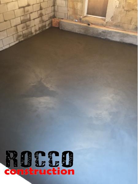 construction concrete slab installation concrete slab for basement
