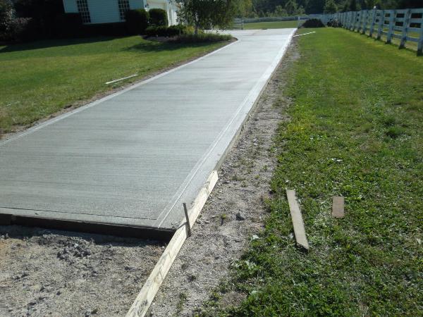 Rocco construction columbus ohio for Removing concrete driveway