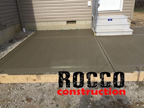 Concrete Installers Rocco Construction Columbus Ohio